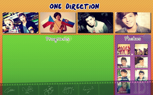 One Direction - Wallpaper by vill-stastna