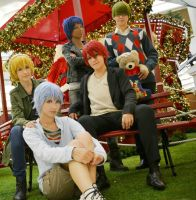 Merry xmas by Kiseki no sedai ~ by Pandora-Hazel