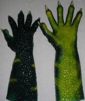 Croc suit Hands by Arooki