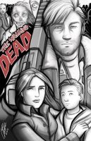 The Walking Dead by Holly-the-Laing