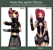 Meme: Before and After by Marfrey