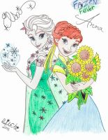 Frozen Fever by NY-Disney-fan1955