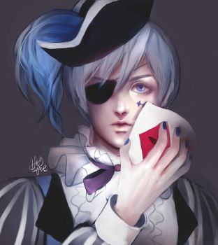 Ciel phantomhive - circus by kittysophie