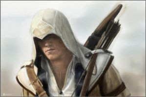 Connor Kenway Assassins Creed 3 by RobynTrower