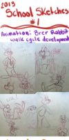 2013 School Sketches 1 by bmbbaby4