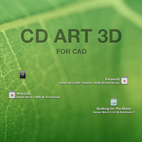 CD Art 3D by balderoine
