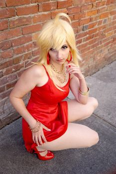 Panty Cosplay by HezaChan