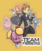 Team Fibbers-Pokemon by Graconius
