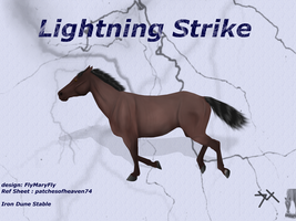Lightning Strike by patchesofheaven74