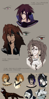 Sketches - Old and new characters by Autlaw