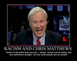 Chris Matthews-only white people are racist by IND-conservative