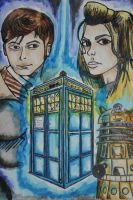 Dr. Who water color by weerdboy118