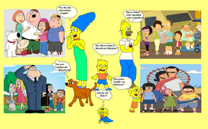 The Simpsons and their Imitations (?) by Austria-Man