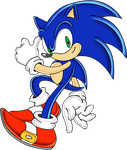 Uekawa's Sonic colored by footman