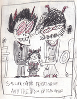 Sollux Captor, Feferi Captor, And Their Son Er by tentabrobpy