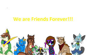 Friends Forever collab by Riolumon
