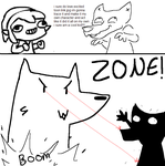 excited toon link traces by FizTheAncient