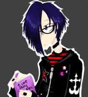 Cheer Up Emo Kid. by straightjackette