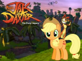 Applejack and Daxter by Paris7500