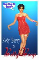 Katy Perry as Betty Boop by cbgorby