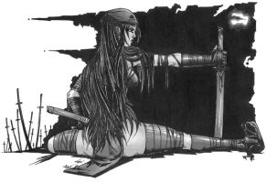 elektra stretches by jay-ecnal