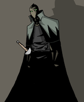 Ghostly Swashbuckler COLOR by mattcrap