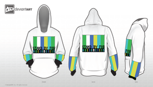 StandyBy Hoodie 8-Bit Design by CanaP92