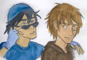 Sirius and Remus by jolly2