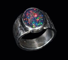 Opal Ring by SoulStoneDesigns