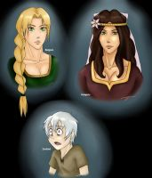 Medival story illustrations by LoveToTheCucumber