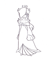 Floating Rosalina -:LINES:- by Kimeria87