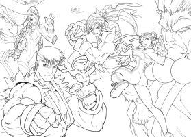 Streetfighter by CarlosGomezArtist