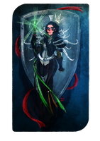 Inquisitor Tarot by AlexielApril