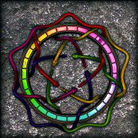 Rainbow snakes by antharon