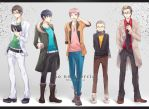 Ao no Exorcist- boys by jaerika