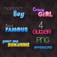 4 Glitter PNG by Nickoland