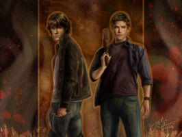 Supernatural - 1024x768 by jackieocean