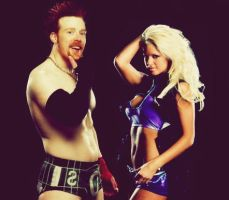 Sheamus and Maryse Graphic 4 by verusImmortalis