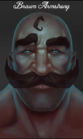 Braum Armstrong by zCrazytb0y