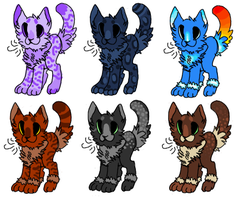 Adoptables - open by CatFeed