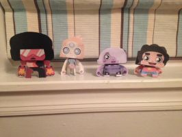 Steven Universe Papercraft by The-CrackedStatement