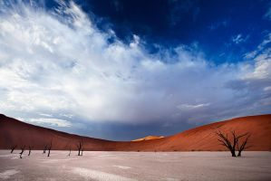 Dead vlei sunrise 2 by Zefisheye