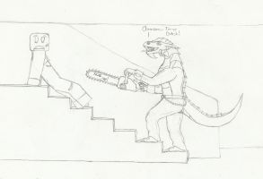 Chainsaw Time by dragonkiller38