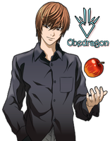 Light Yagami - Death Note Render by Obedragon