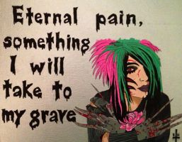 BOTDF Incomplete And All Alone Painting by bewitchedgirl
