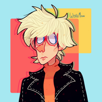 Andy Warhol by KabouterPollewop