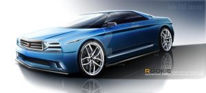 LADA 210S concept by rookiejeno