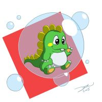 Bubble Bobble by zedew