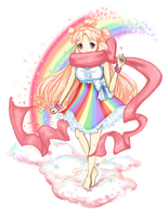 Kawaii Rainbow by Liansa