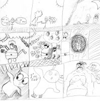 Ed's special Halloween Comic Jam 4 by Edouar